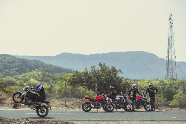 Ducati v Triumph v Aprilia v MV Agusta | MOTORING World
