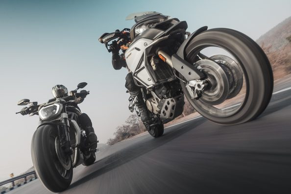 Ducati Multistrada 1200 Enduro x Ducati Diavel | MOTORING World