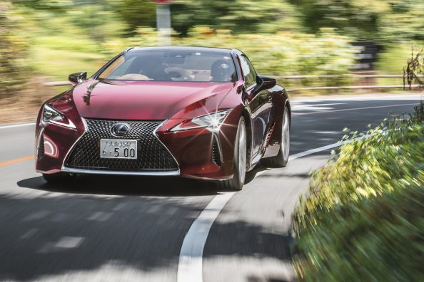 2019 Lexus LC500h | Press Launch | Japan
