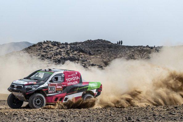 2021 Dakar Rally | Yazeed Al-Rajhi | Overdrive Toyota | Shakedown
