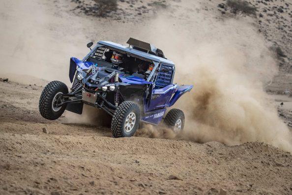 2021 Dakar Rally | Yamaha X-Raid | Mattias Ekström & Camelia Liparoti | Shakedown