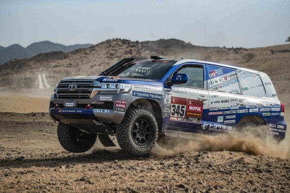 2021 Dakar Rally | Toyota Autobody | Shakedown